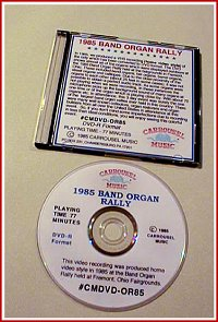 Band Organ Rally DVD